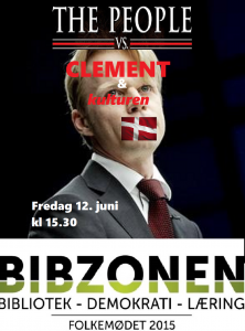 Folket vs clement m logo